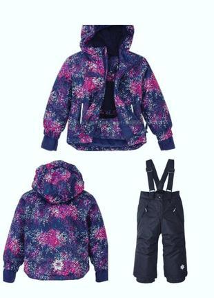 Crivit комплект куртка термо и штаны на девочку 2-4 года