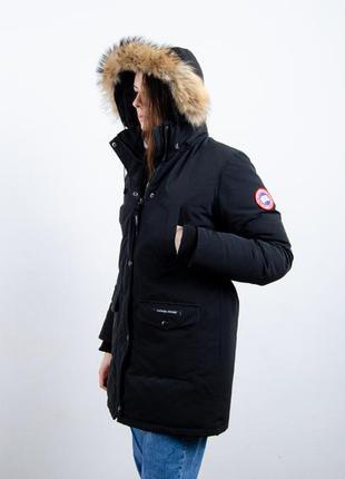 Canada goose женская пуховая парка пуховик зимняя куртка аляска