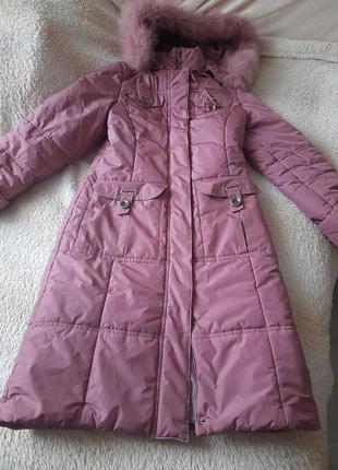 Курточка пальто женское зимнее 44 s 10