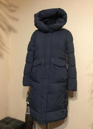 🔥шикарное🔥 зимнее тёплое пальто одеяло био пух пуховик
