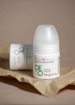 Натуральный дезодорант deo bergamot