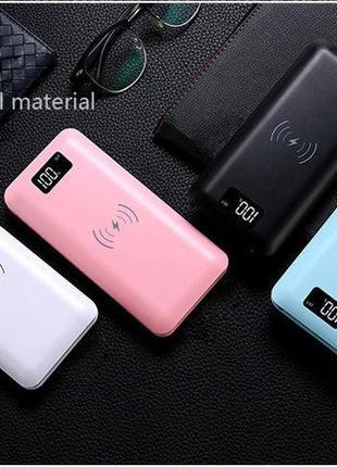 Батарея універсальна Wireless 908  16000 mAh (с дисплеем)