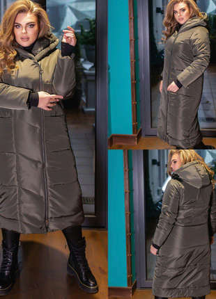 Пальто женское/куртка зимняя, пуховик