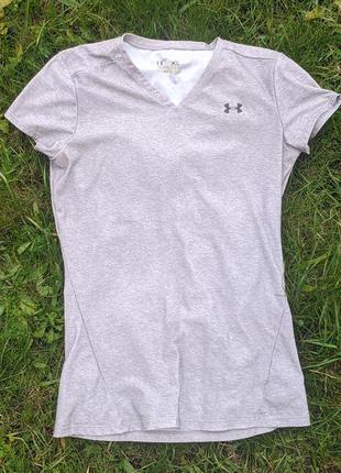 Жіноча компресіонна футболка under armour compression heatgear