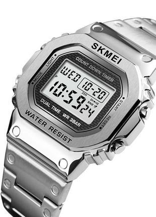Стальные часы Skmei Steel 1456 (5 bar) Silver