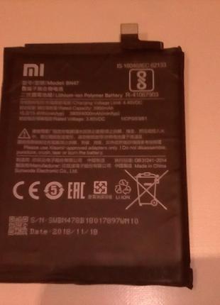 АКБ на Xiaomi Mi A2 Lite         4000mAh
