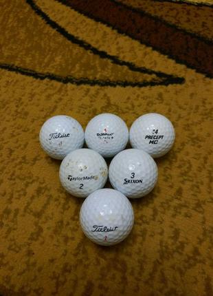 Шарики для гольфа, мячики для гольфа
