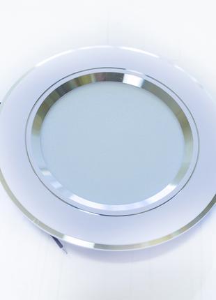 Светильник встраиваемый накладной потолочный светодиодный 9W 220V