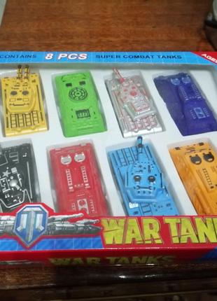 Набор пластмассовых танков