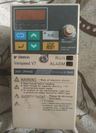 Перетворювач частоти OMRON Varispeed V7