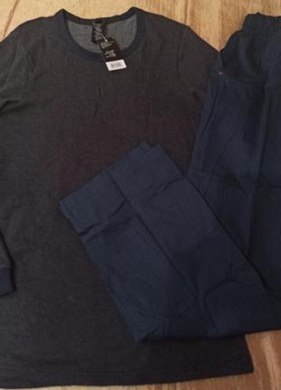 Домашний костюм реглан и штаны livergy s-m мужская пижама