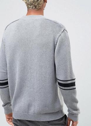 Мужской вязаный свитер cheap monday