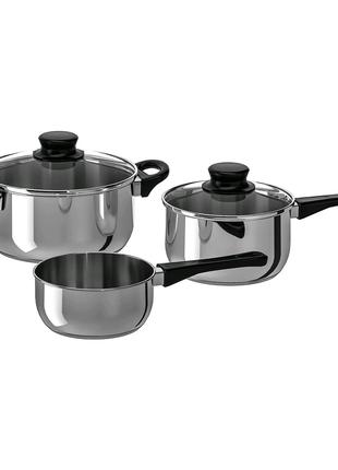 Набор кухонной посуды IKEA ANNONS 3 предмета