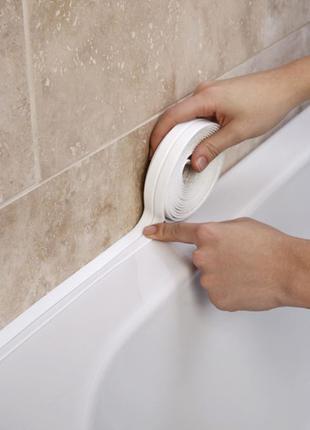 Бордюрная лента для ванной, кухни, душа 2.2 см 3.2 м
