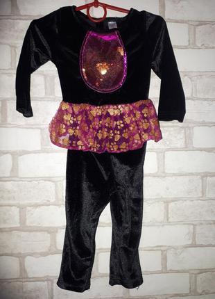 Карнавальный костюм кошечки, человечек