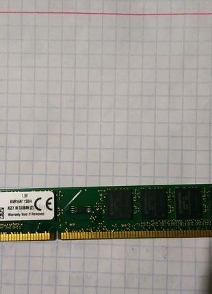 Оперативная память на 4 гб DDR3 KINGSTON