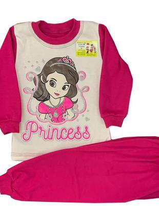 """Хлопковая пижама для девочки """"принцесса софия"""""""