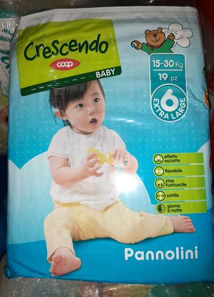 Подгузники Crescendo *6, 19 шт