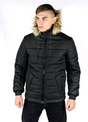 Куртка чорна Alaska