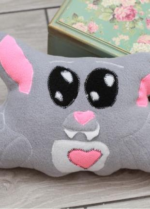 Летучая мышка подушка