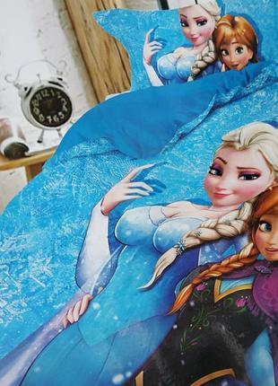 Детская байковая/фланелевая постель. тёплое постельное белье э...