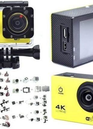 Экшн камера 4K wi-fi +Пульт