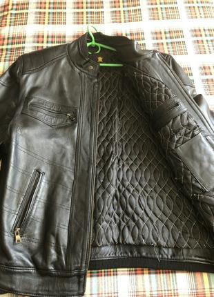 Мужская кожанная куртка Марокко