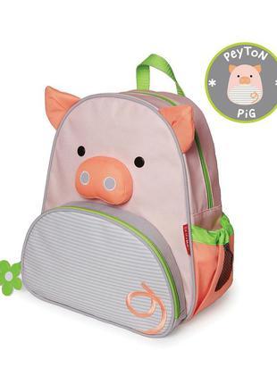 Skip hop zoo little kid backpack. оригинал. рюкзачок zoo colle...