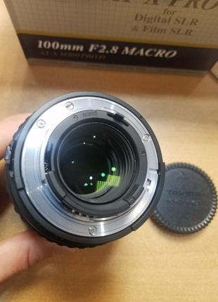 Линза Tokina AT-X M100 AF PRO D AF 100mm f2.8 Nikon