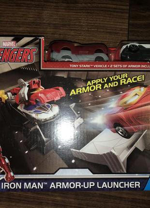 Гоночный набор супергероев hot wheels marvel avengers iron man...