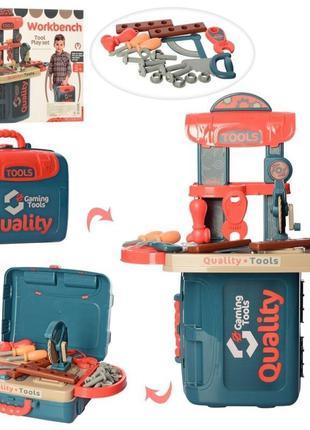 Детский игровой набор инструментов со столом