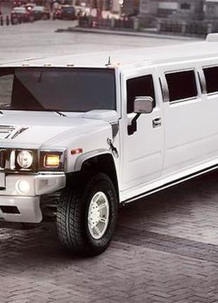 023 Лимузин Hummer H2 белый аренда