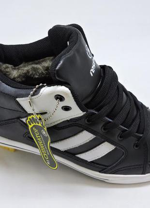 Кожаные зимние кроссовки размеры с 36 до 39