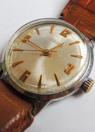 Механика на ходу часы Ракета годинник, сделано в СССР