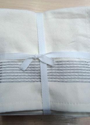 Набор полотенец 30*30 (6шт) Полоса