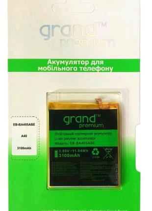 АКБ Samsung a405 galaxy a40 аккумулятор батарея Grand