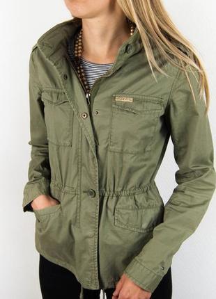 Парка - куртка в милитари стиле tommy hilfiger