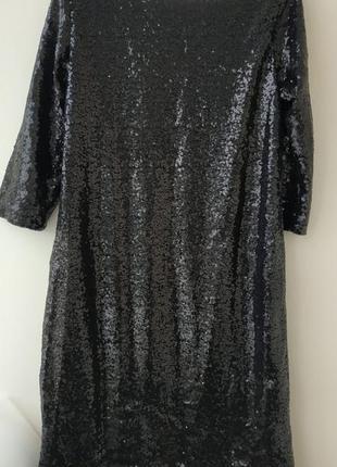 Платье в пайетку на новый год