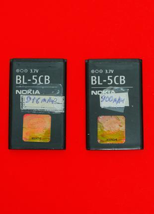 Аккумулятор акб Оригинал Nokia BL-5CB BL-5CA BL-5C BL-4С