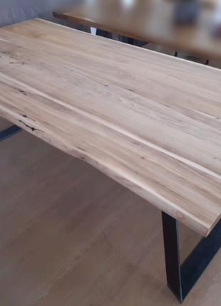 Обеденный стол, Loft стиль, берест/дуб/акация, столы под заказ