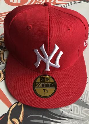 Кепка бейсболка фул кеп  mlb new york yankees