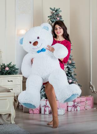 Большая мягкая игрушка мишка Yarokuz Билли 150 см Белый