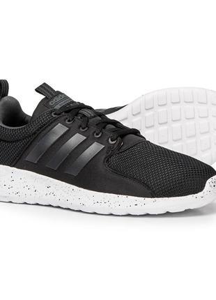 Adidas cloudfoam мужские черные кроссовки сетка оригинал адидас