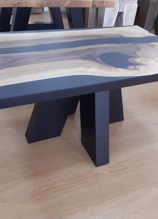 Журнальный стол из массива ореха, столы под заказ, Loft