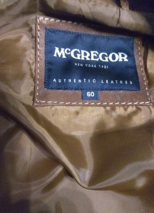 McGREGOR куртка-пиджак из натуральной замши XXXL