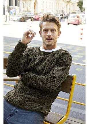 Мужской вязаный свитер джемпер