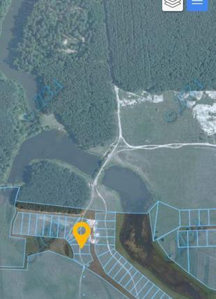 Продам земельні ділянки в  с.Козлин