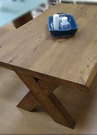 Обеденный стол, массив дуба/акации/ореха, Столы LOFT