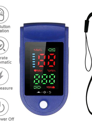 Пульсоксиметр Fingertip Pulse Oximeter LK87