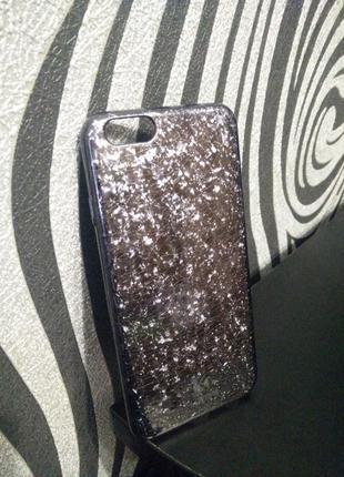 Пластиковый чехол накладка  для iphone 6, 6s с мраморным дизайном
